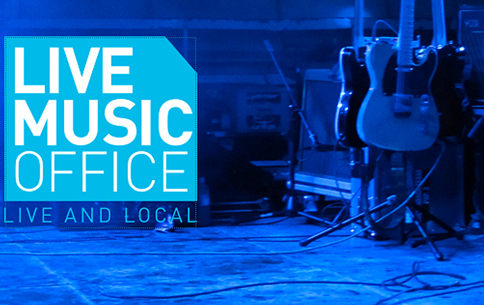 live music office website & research