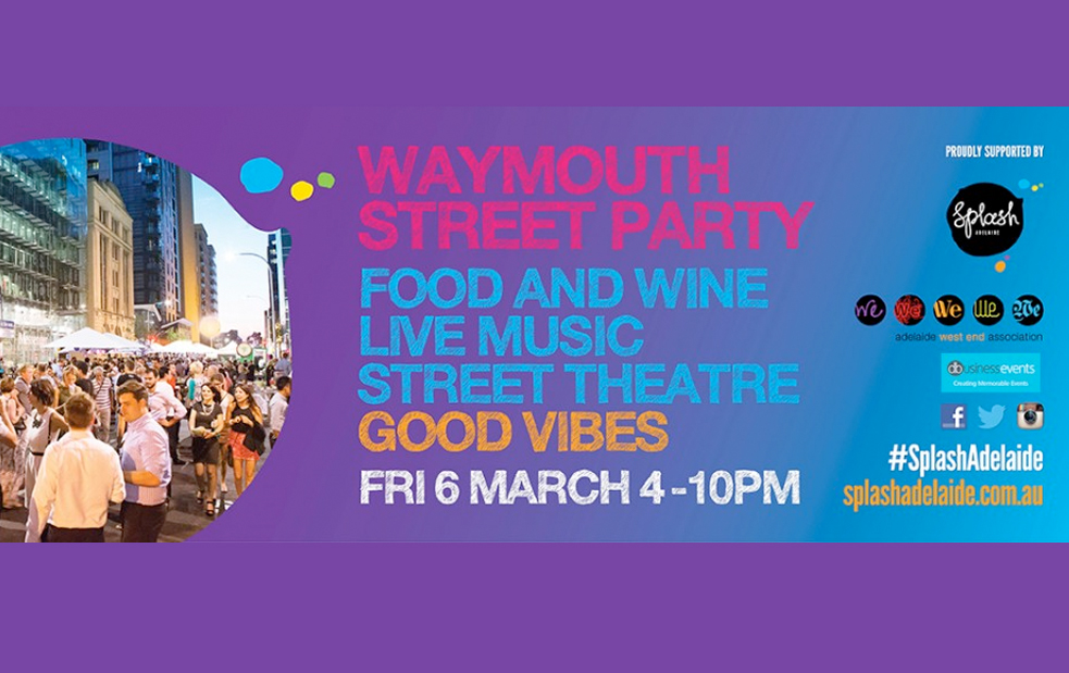 live local music at street party