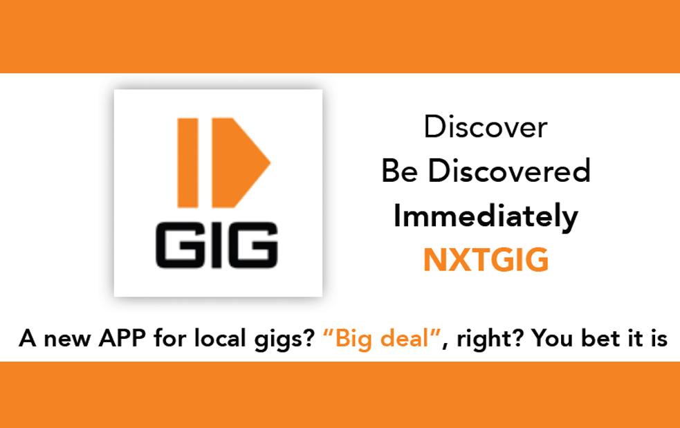 nxtgig – register now