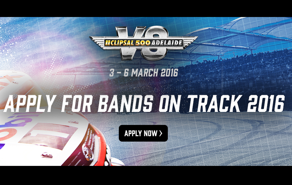 clipsal 500 line up for friday concert