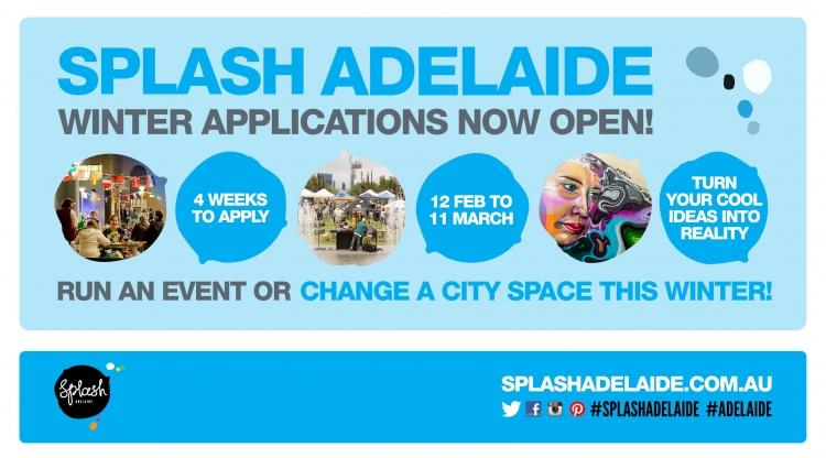 splash adelaide applications