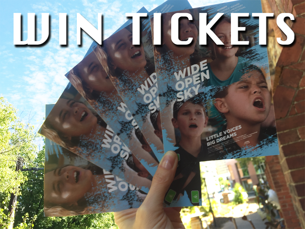 win tickets to music film