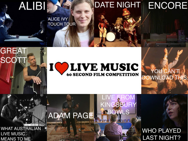 Top 10 Finalists Announced for I LOVE LIVE Music Film Competition