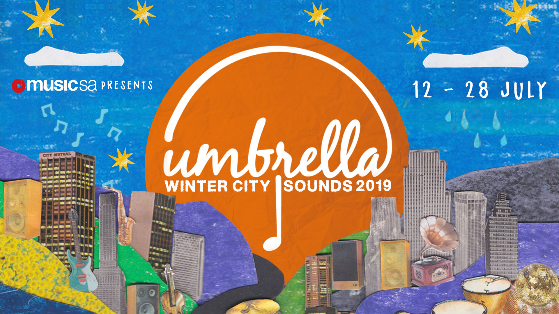 Umbrella Winter City Sounds is Back for 2019!