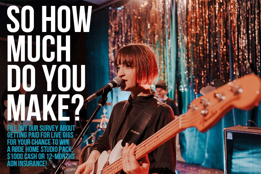 AUSTRALIAN MUSIC INDUSTRY NETWORK LAUNCHES NATIONAL SURVEY ON LIVE MUSIC PAY